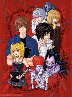 Deathnote Eightsome by yuzukko