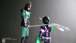 S.H. Figuarts Kamen Rider BLACK RX 2.0 with W by Digger318