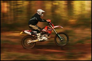 ktm Enduro 2008 2 - wheelie by LeapingJag