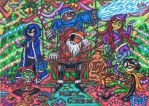 .:A Merry Christmas For The Teen Titans!:. -2014- by AceOfSpeed94