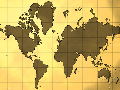 Old World Map V.1 by Wheels35