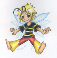 Wyatt The Wasp Faerie by Luifex
