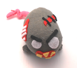 Miniature zombie plushie (10 centimeter/ 4 inches) by MiniSweetx