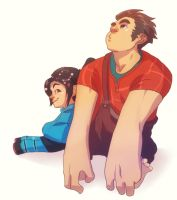 WRECK-IT-RALPH by cherrysplice