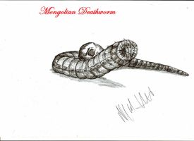 Mongolian Deathworm by Teratophoneus
