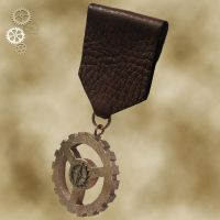 Steampunk Medal 3a by Utinni