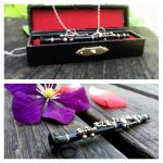 Clarinet Necklace by SteamPixy