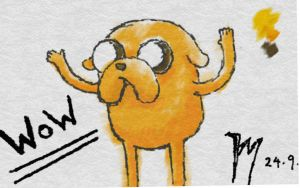 Jake the dog by twitte0king