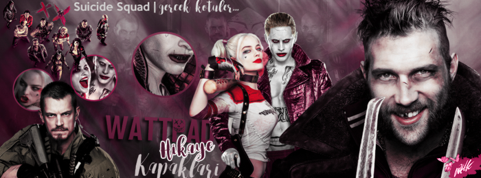 SUICIDE SQUAD by callousgoddess