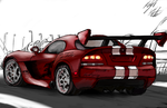 Dodge Viper by PeterPrime