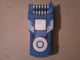 Christopher's Fusion Loader Digivice PaperCraft by SuperVegeta71290