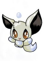 Shiny Eevee Chao by Chaomaster1