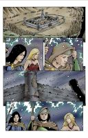 Spellbound Page 4 colored by Jesse7800
