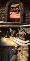 Heroquest gaming table : the Trial 02 by DamienThevenin