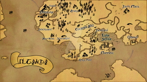 The Map of Iltanda by Messinground