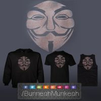 Guy Fawkes Inspired clothing by Bunneahmunkeah