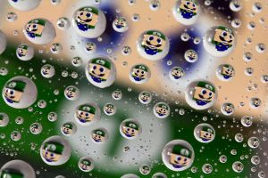 Luigi water drops by Doogle510