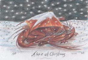 Alone at Christmas by Riok