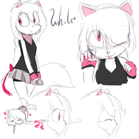 White. by Akuchan-sketches