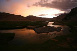 Evening in Ladakh by orographic