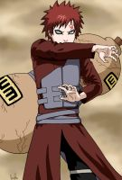Gaara of the Sand by ErithEl