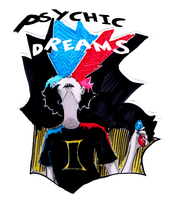 Sticker : Psychic Dreams by DeAtHofCopPeLIA