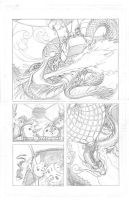 Snowmanilas #3, Page 13 PENCILS by Theamat