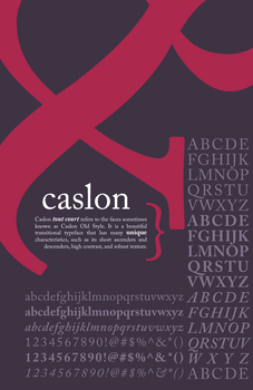 caslon back by tall-tale