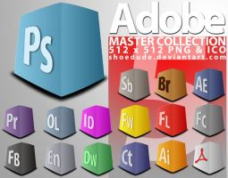 Adobe CS5 Masters Collection by Shoedude