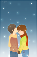 Snow Kiss by Magumii