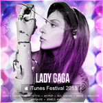 Lady Gaga iTUNES FESTIVAL 2013 by DontCallMeEve