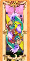 Clow Card Colored - The Twin by RenjiAbaraiGR
