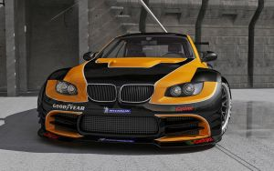 BMW M3 E92 Front End by stefanmarius