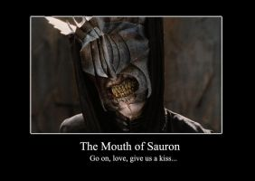 Mouth of Sauron by DeviantGreen