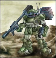 VOTOMS: ATM-09-ST Scopedog by zeiram0034