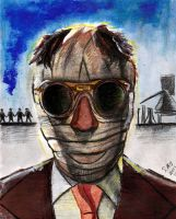 Invisible Man - Claude Rains - Universal Monster 4 by smjblessing