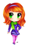 Commission for katie0513! Daphne! by HappySmileGear