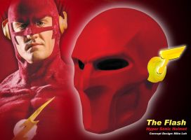 Flash Helmet OMG LOL by Uratz-Studios