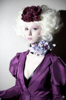Breathlessaire as Effie of the Hunger Games by GenericPhotoninja