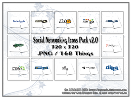 Social Networking Icons Pack v2.0 by conzumir
