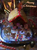the gingerbread house that tom nook built by twinkle-little-bat