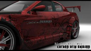 RX-8 -Carbon Drip- PSP W.paper by blade2085