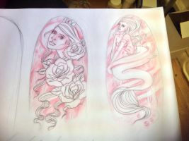 Half sleeve designs (NOT FOR ANYONE ELSES USE!) by jessparry