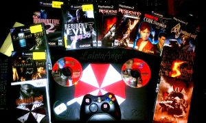 My Resident Evil Games Collection by LakotaAngel72
