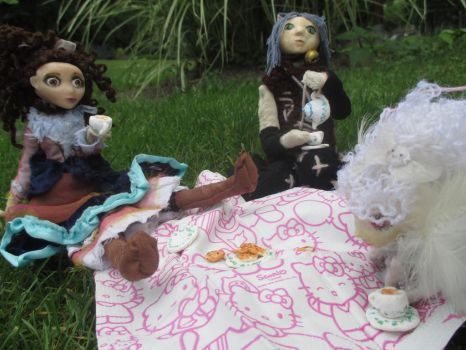 Mad Tea Party by CatLady-Violette