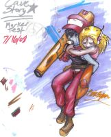 Cave Story-Marker testing by Neecross