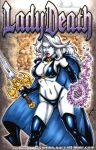 Lady Death Sketch Cover commission 2 by gb2k