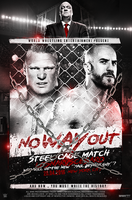 NO-WAY-OUT B. Lesnar VS A. Cesaro by fraH2014