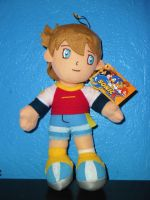 Sonic X Chris Thorndyke Plush by DarkGamer2011