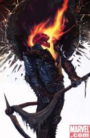 Ghost Rider Vs Grim Reaper *weird* by SallyBeatles1